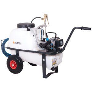 softwash pump, wheel barrow pump