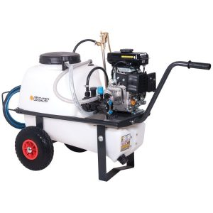 softwash machine wheel barrow petrol
