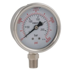Stem Mounted Pressure Gauges