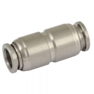 Equal Tube x Tube Stainless Steel Push Fit Fittings