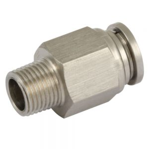 Male Stud Stainless Steel Push Fit Fittings