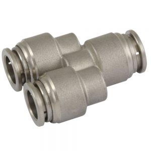 Y Connector Stainless Steel Push Fit Fittings