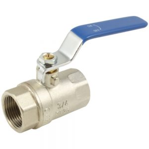 Blue Handled Low Pressure Ball Valves