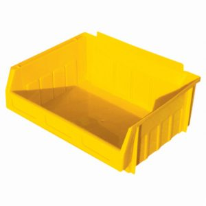 Yellow Storage Bins